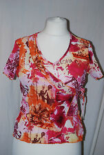Armand Thiery, Ladies, Faux Wrap, Blouse, Top, size T5 (12-14)