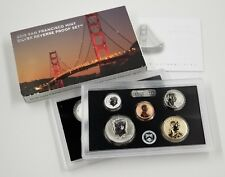 2018 S Silver Reverse Proof 10 coin Set