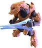 Halo Mega Bloks Foxtrot Serie 15 Covenant Elite Zelote con / Plasma Hoja