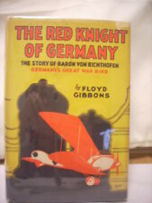 Red Baron The Red Knight of Germany Floyd Gibbons WW1 Ace Book Dust Jacket