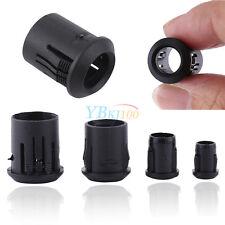 50Pcs 3mm 5mm 8mm 10mm Noir Support de LED Lampe Diode Ampoule Clip Bezel Mount