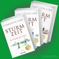 DIE STURMZEIT-TRILOGIE | CHARLOTTE LINK | Roman-Reihe - Band 1+2+3