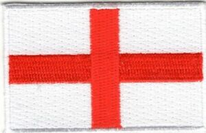 """ENGLAND FLAG Iron On Patch  2 1/2"""""""