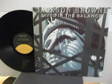 "Jackson Browne,Asylum,""Lives In The Balance"",US,LP,stereo,original inner slv,M"