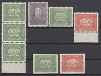 BY6977/ GERMANY – RUSSIAN ZONE – ALTENBURG – MINT MNH LOT