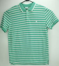 Brooks Brothers men's XL Extra Large  346 Polo slim fit green white striped