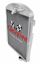 3 Row Ace Champion Radiator for 1938 Chevrolet HE L6 Engine
