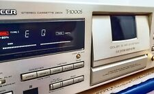 Pioneer T-1000s Ct95 Tape Deck 3 heads B&C Hx Pro Flat Ble Serviced Excellent