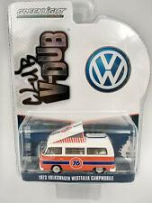 Volkswagen combi type 2 1973 westfalia camping, échelle 1:64 longueur 7cm neuf