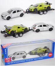 Siku Super 2544 Porsche Macan Turbo mit Autotransporter & Gumpert Apollo