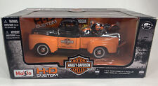 Maisto Harley Davidson 1948 Ford F-1 Pick-Up + FL Panhead Motorcycle 1:24  Scale