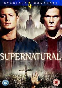 Supernatural - Stagione 4 Completa In Italiano (8 DVD)