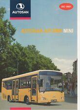 Autosan A813MN Mini bus (made in Poland) _2001 Prospekt / Brochure
