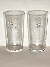 TWO 2019 PREAKNESS Glasses!!    2 Preakness Glasses for YOU!!    NEW + MINT!!