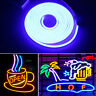 DC 12V SMD2835 Flexible LED Strip Waterproof Neon Lights Silicone Tube 1m-5m 4B