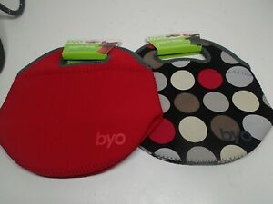 """Set of 2 New BYO Lunch Bag Express carriers With tags Approx 10"""" by 10"""""""