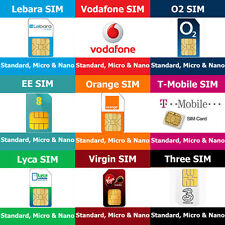 Vodafone Micro SIM Card Pay as You Go