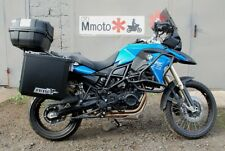 BMW F800GS 2013 Whole-welded luggage rack system Black Mmoto
