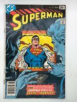 SUPERMAN #326 DC 1978 BRONZE AGE COMIC A MILLION DOLLARS A MINUTE!