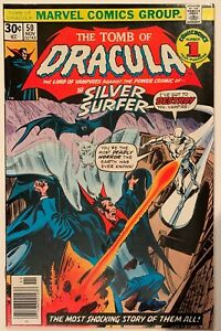 (1976) Tomb of Dracula #50! Silver Surfer appearance