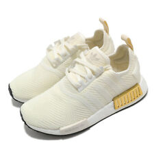 adidas Originals NMD_R1 W BOOST Off White Gold Women Casual Shoes Sneaker EE5174