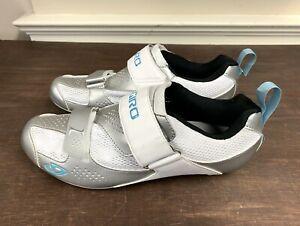 Giro Flynit Tri Women's Cycling Shoes 43 EU 10.5 New