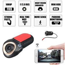 WIFI Mini Car Cam Dash Vedio Recorder HD CMOS Image Sensor for Android IOS APP