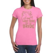 Hen Party Last ride for the Bride Funny T shirt