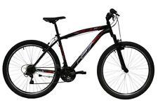"""MTB mountain bike 27,5"""" FORCELLA AMMORTIZZATA - 21 velocità - MADE IN ITALY NERA"""