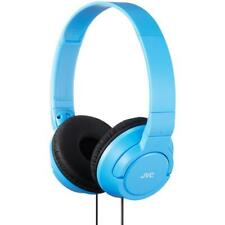 JVC HAS180 High Quality Lightweight Powerful Deep Bass Foldable Headphones Blue