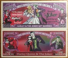 Joker & Harley Quinn get married bill (Error see pictures)