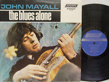 JOHN MAYALL - The Blues Alone LP (1st US Pressing on LONDON)