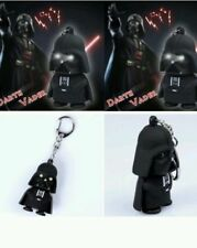 Darth Vader Rubber Key Chain Key Holder with Flash Light & Sound Gift Toy USA