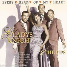 GLADYS KNIGHT & THE PIPS - Every Beat Of My Heart (UK 16 Tk CD Album)