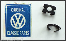 VW MK2 Golf - Genuine OEM - Hard Line To Flexi Pipe Clips - 2 Pack - Brand NEW!!
