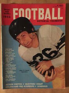1952 STREET & SMITH COLLEGE/PRO FOOTBALL YEARBOOK-JOHNNY OLSZEWSKI-CALIFORNIA
