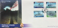 Falkland Islands: 2009 Maritime Heritage Part 6 HMS Exeter Commemorative Cover