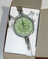 Mitutoyo 2048-10 Dial Indicator, Range 0-10mm, Graduation 0.01mm