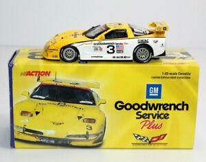 Action 2000 Corvette C5-R #3 Goodwrench Service Plus 1:43 Fellows/Kneifel/Bell