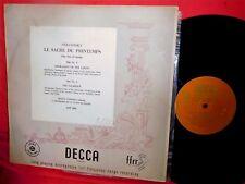ANSERMET STRAVINSKY Le Sacre Du Printemps LP UK 1951 VG+ DECCA LXT2563