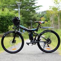 26'' Elektrofahrrad Mountainbike E-Bike Pedelec Klappbar Fahrrad Citybike 36V