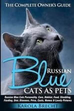 Russian Blue Cats as Pets: Personality, care, habitat, feeding, shedding, diet,