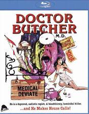 DR. BUTCHER M.D. / ZOMBIE HOLOCAUST - BLU RAY - Region free  - Sealed