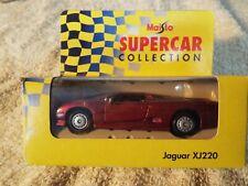 Maisto Supercar JAGUAR XJ220. IN DAMAGED BOX