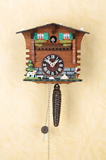 Quarter-Hour Striking Cuckoo Clock with 1-day Chain-Driven Movement, Schwarzwald
