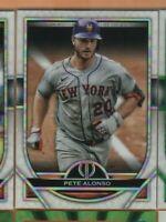 2021 Topps Tribute Baseball - #79 Pete Alonso - New York Mets -  nrmt/mint