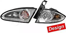 HELLA Seat Leon 2005-2009 Silver Tail Lights Left + Right Full Set 4pcs