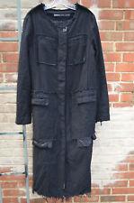 Rundholz main line black coat with front pockets
