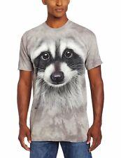 The Mountain Raccoon Face T-Shirt Mammal Grey