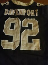 Nike New Orleans Saints Game issued Jersey #92 Marcus Davenport